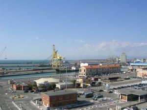 Area portuale di Livorno